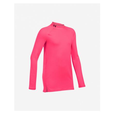 Under Armour ColdGear® Koszulka dziecięce Różowy