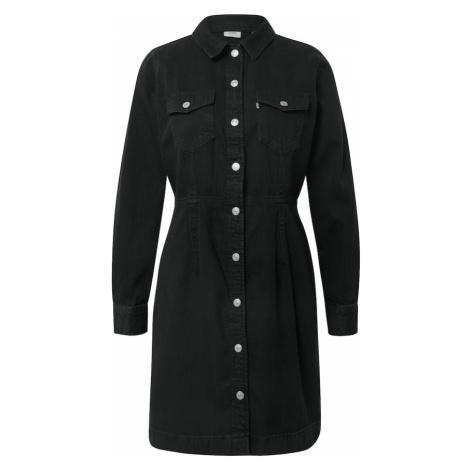 LEVI'S Sukienka koszulowa 'ELLIE' czarny Levi´s