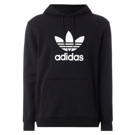 Bluza z kapturem z nadrukiem z logo Adidas
