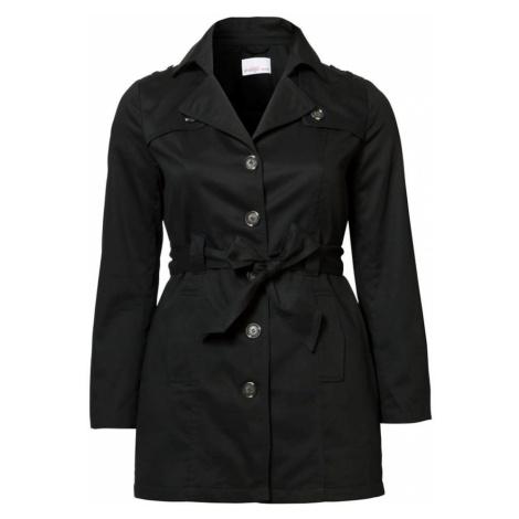 SHEEGO Płaszcz przejściowy czarny