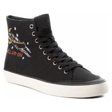 Sneakersy POLO RALPH LAUREN - Solomon 816713139001 Black