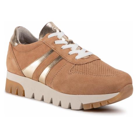 Sneakersy TAMARIS - 1-23749-24 Camel/Lt. Gold 313