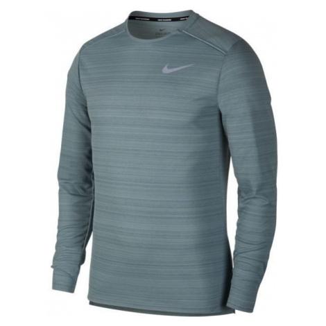 Nike NK DRY MILER TOP LS jasnozielony XL - Koszulka do biegania męska
