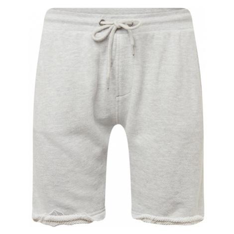 Urban Classics Spodnie 'Herringbone? Terry Shorts' jasnoszary