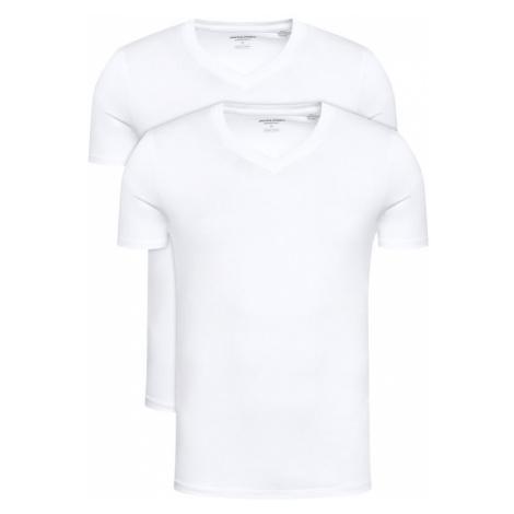 Białe męskie piżamy