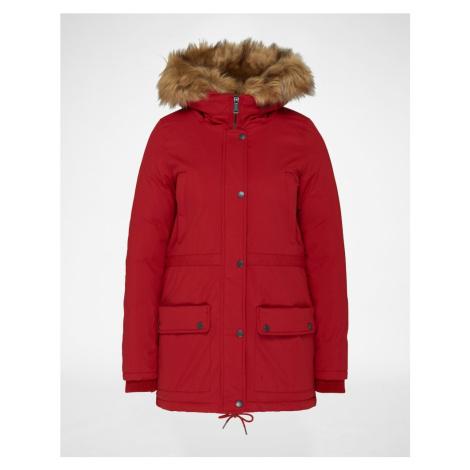 Schott NYC Parka zimowa 'Lucia' czerwony