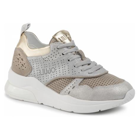 Sneakersy LIU JO - Karlie 14 BA0007 PX056 Light Gold/Silv