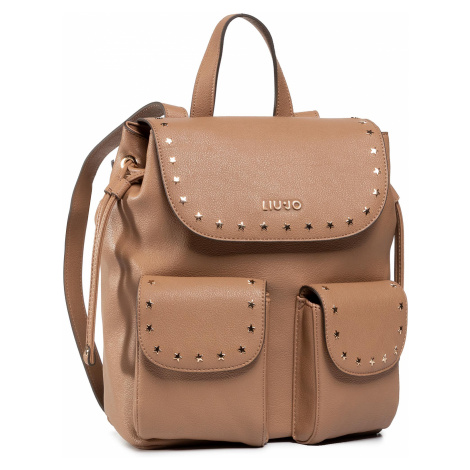 Plecak LIU JO - M Backpack NF0044 E0033 Indian Tan 71328