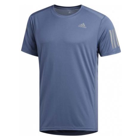 adidas OWN THE RUN TEE niebieski M - Koszulka męska