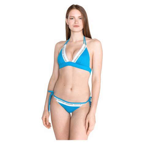 Calvin Klein Górna część stroju kąpielowego Niebieski