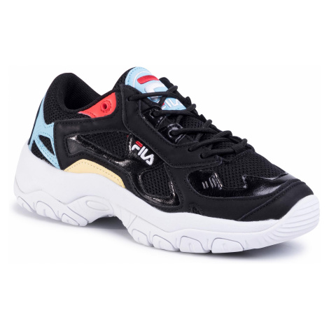 Sneakersy FILA - Select Low Wmn 1010662.14A Black/Crystal Blue