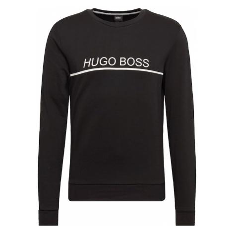 BOSS Bluzka sportowa 'Tracksuit 101665' czarny / biały Hugo Boss