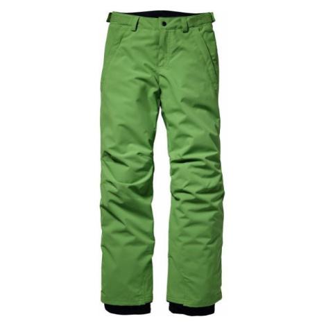 O'Neill PB ANVIL PANTS zielony 140 - Spodnie narciarskie/snowboardowe chłopięce