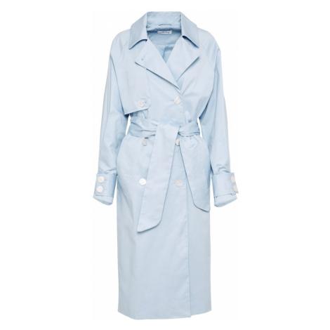 EDITED Płaszcz przejściowy jasnoniebieski