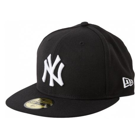 NEW ERA Czapka z daszkiem '59FIFTY MLB Basic New York Yankees' czarny / biały