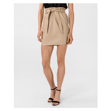 Vero Moda Awardbelt Spódnica Beżowy