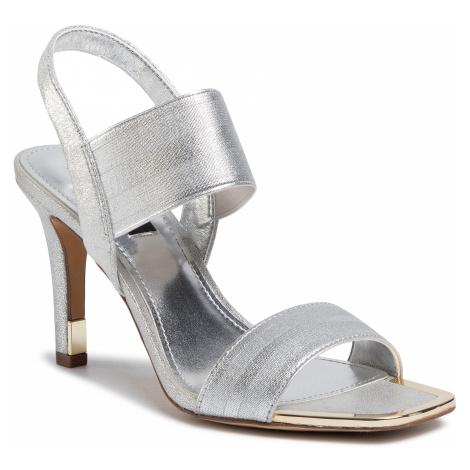 Sandały DKNY - Bryson K1039211 Elastic/Leather Silver Sil