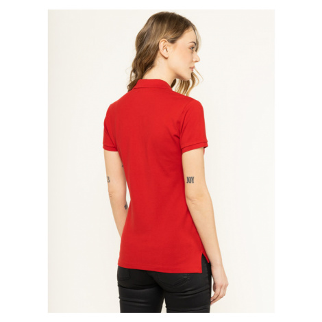 Polo Ralph Lauren Polo Julie 211505654113 Czerwony Slim Fit