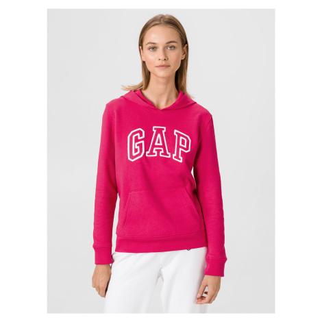 GAP różowa bluza damska z logiem