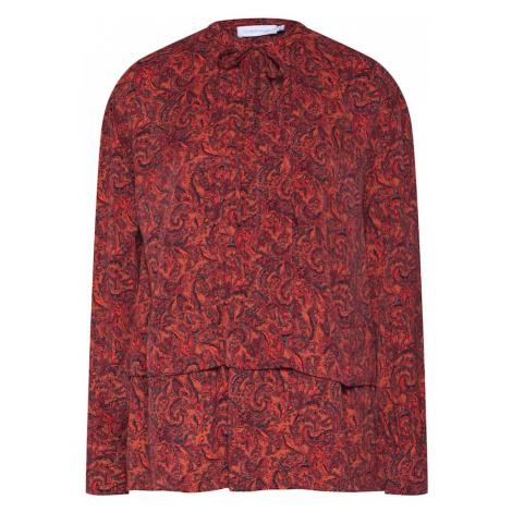 Calvin Klein Bluzka 'PRT VISCOSE PIONEER BLOUSE LS' czerwony