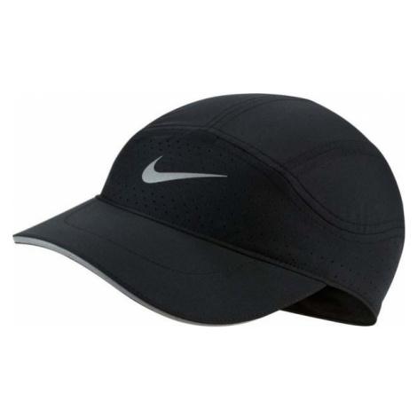 Nike AROBILL TLWD CAP ELITE czarny  - Czapka z daszkiem do biegania