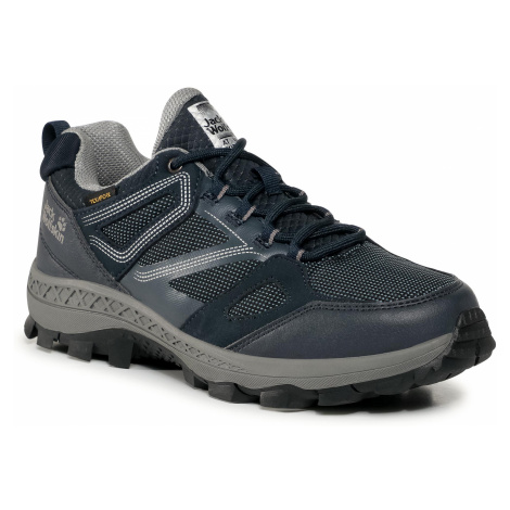 Trekkingi JACK WOLFSKIN - Downhill Texapore Low M 4043851 Dark Blue/Grey