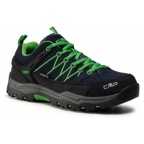 Trekkingi CMP - Kids Rigel Low Trekking Shoes Wp 3Q13244J B.Blue/Gecko 51AK