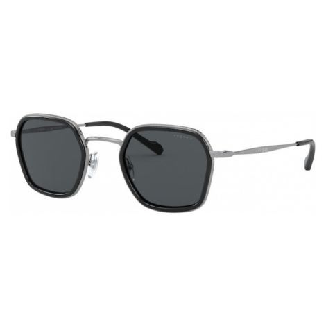 VOGUE Eyewear Okulary przeciwsłoneczne 'METALL MAN SONNE' czarny