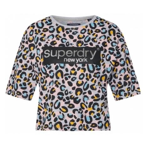 Superdry Koszulka 'GRAPHIC' szary / mieszane kolory