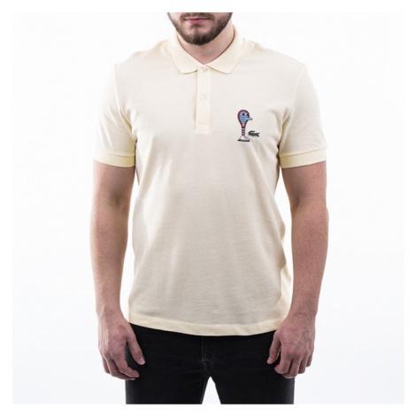 Koszulka męska Polo Lacoste x Jeremyville Design Classic PH0409-YZJ