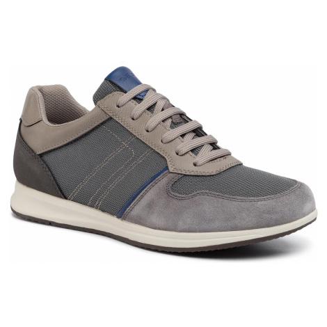 Sneakersy GEOX - U Avery C U02H5C 02214 C9004 Anthracite