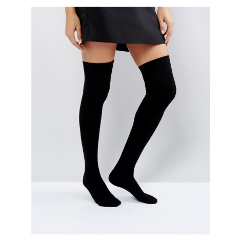 ASOS DESIGN thigh high socks