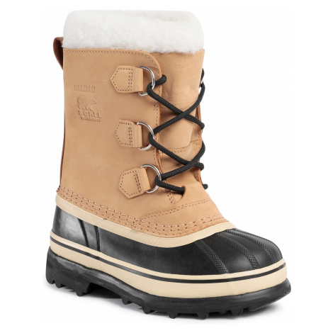 Śniegowce SOREL - Youth Caribou LY1000 Buff