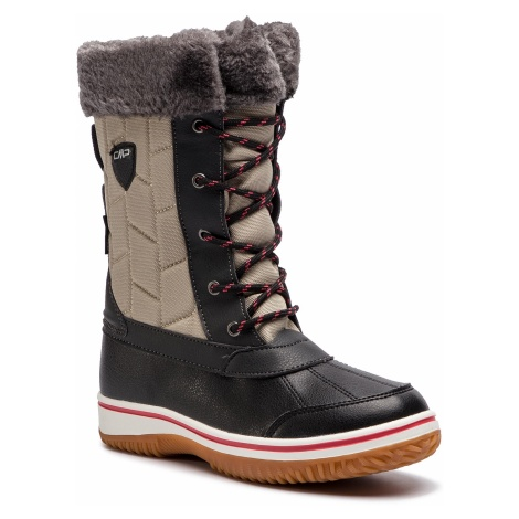 Śniegowce CMP - Junior Siide Afterski Boot Wp 38Q4524 Sand A516