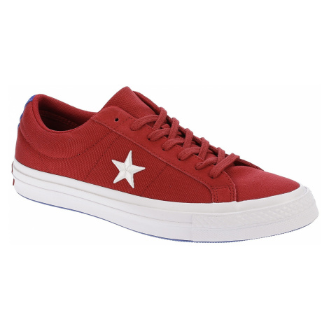 buty Converse One Star OX - 160595/Gym Red/White/Hyper Royal