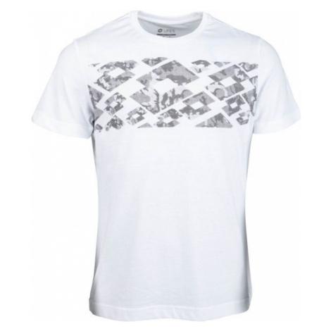 Lotto MORE TEE JS biały L - Koszulka męska