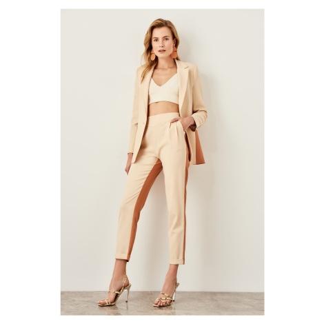 Trendyol Mink Color Blocky Pants
