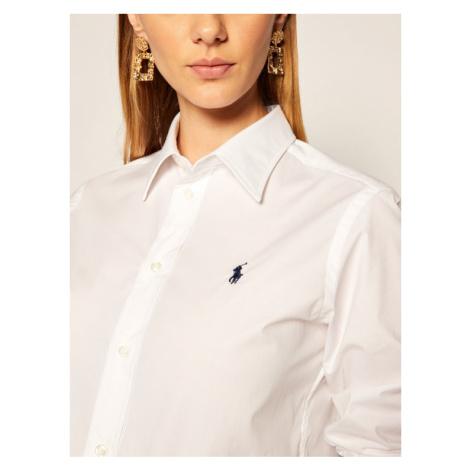 Polo Ralph Lauren Koszula Lsl 211806180 Biały Classic Fit