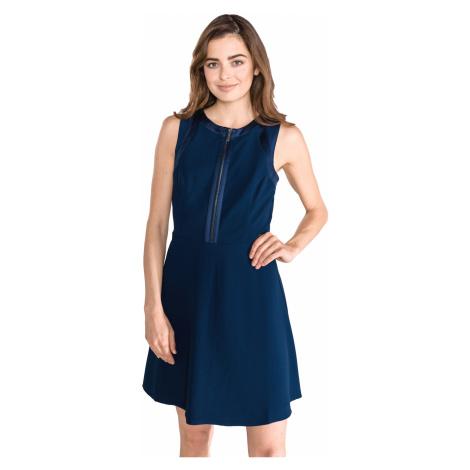 Armani Exchange Sukienka Niebieski