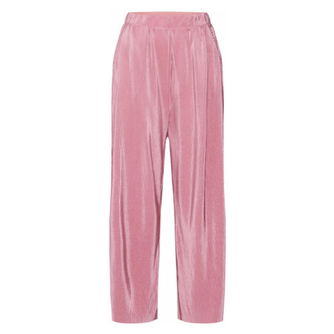 Q/S Designed By Spodnie stary róż