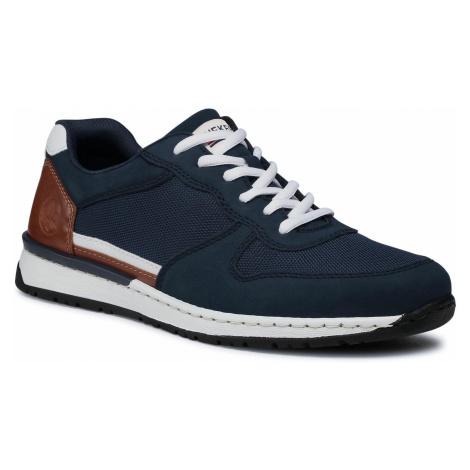 Sneakersy RIEKER - B5129-14 Blau