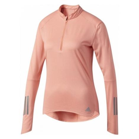 adidas RS LS ZIP TEE W - Koszulka do biegania damska