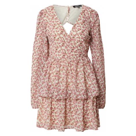 Missguided Letnia sukienka stary róż / mieszane kolory