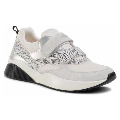 Sneakersy GEOX - J Sinead Girl C J029TC 01122 C1000 S White