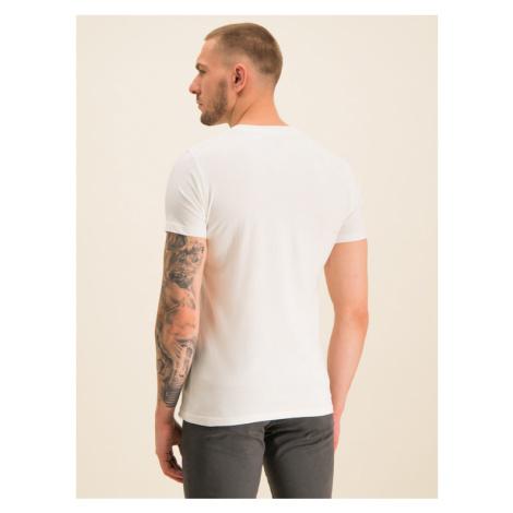 Pepe Jeans T-Shirt Raury PM506480 Biały Slim Fit