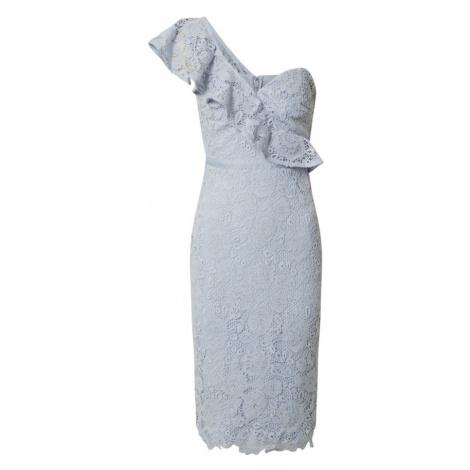Lipsy Sukienka koktajlowa 'AC ONE SHOULDER CORNFLOWER LACE' niebieski