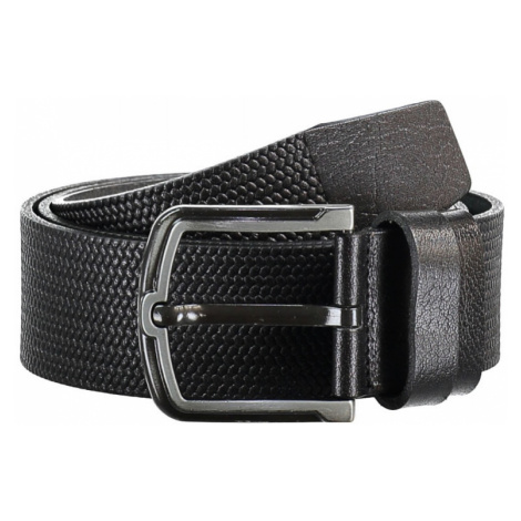 Trendyol Black Male Genuine Leather Textured Belt