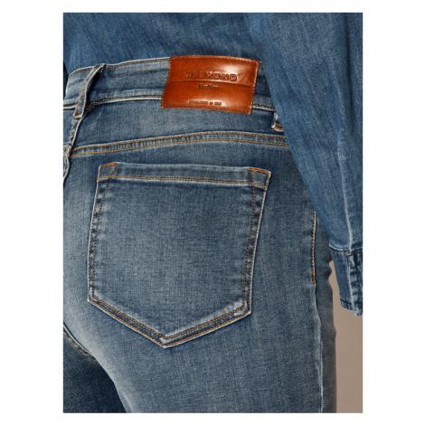 Weekend Max Mara Jeansy Skinny Fit Patto 51860209 Granatowy Skinny Fit