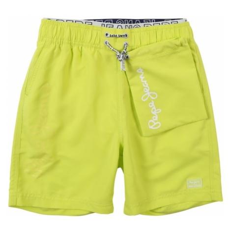 Pepe Jeans Szorty kąpielowe 'Rusti' żółty