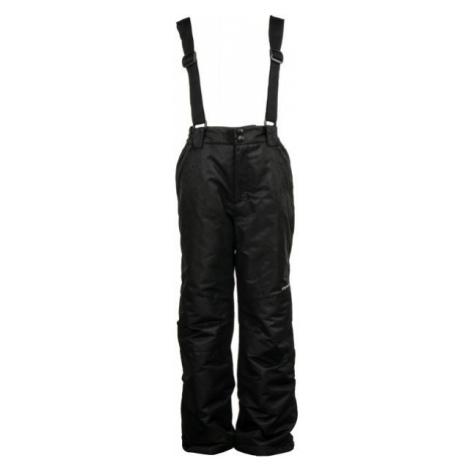ALPINE PRO FUDO 2 czarny 140-146 - Spodnie narciarskie dziecięce